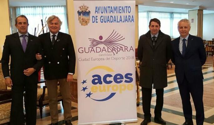 Guadalajara se examina ante la Comisión de Evaluación de Ciudades Europeas de Deporte