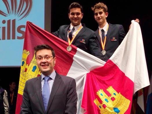 David Íñigo Cobo, del IES Aguas Vivas de Guadalajara, medalla de plata en el Certamen de SpainSkills 2017