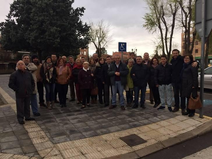 Cerca de 200 militantes de Guadalajara arropan a Susana Díaz enla presentación de su candidatura a la Secretaría General del PSOE