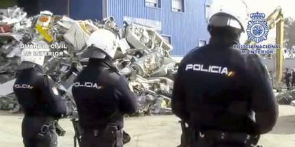 Detienen a 53 personas y recuperan 3 millones de euros procedentes de cientos de robos, algunos en Guadalajara