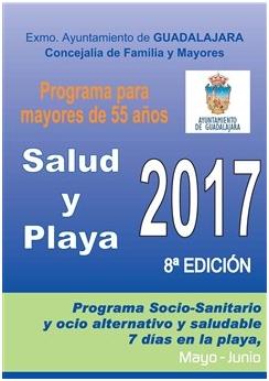 Todo listo para la nueva edición del programa Salud y Playa del ayuntamiento de Guadalajara