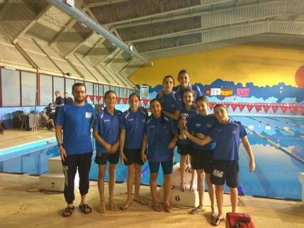 7 oros, 5 platas y 3 bronces consiguió el Alcarreño de Salvameneto en natación