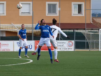 Los azulones del C.D.Yunquera consiguen tres puntos de oro frente al Spt. Cabanillas (1-0)