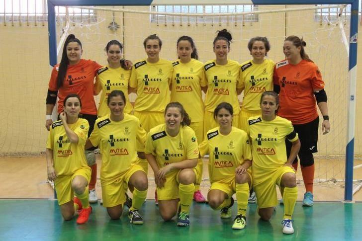 Lluvia de goles para las chicas del Alovera en el Pedro Delgado de Segovia