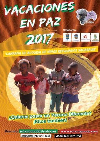 Sólo faltan dos familias para acoger a todos los niños saharauis durante este verano en Guadalajara