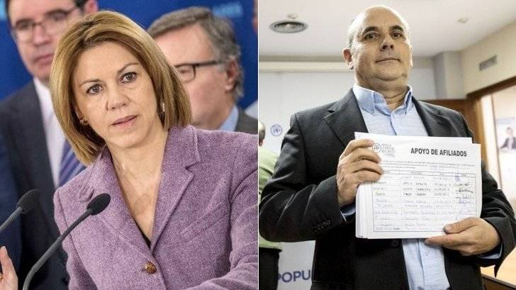 Hay partido : Cospedal tiene rival para presidir el PP de Castilla-La Mancha