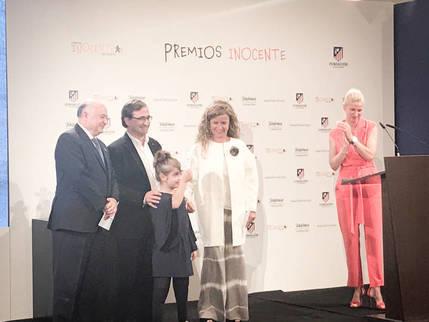 Fundación Nipace, galardonada con 5.000 euros en los Premios Inocente 2017