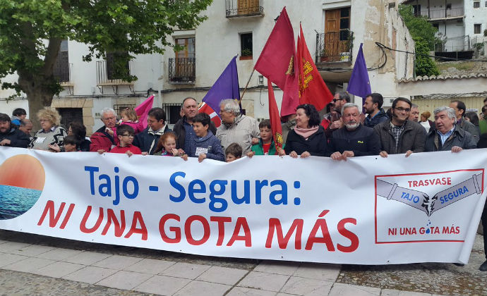 Nueva marcha entre Chillarón del Rey y Alocén contra el Trasvase Tajo-Segura