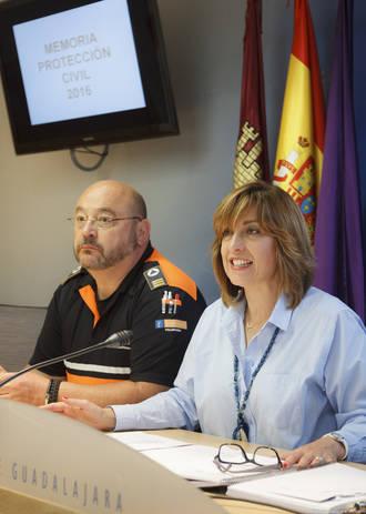 Los voluntarios de Protección Civil regalaron altruistamente a Guadalajara más de 20.000 horas de servicios