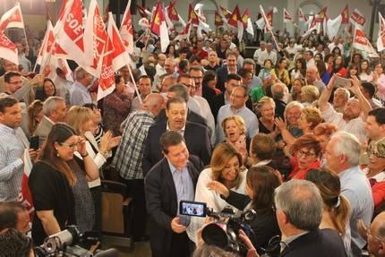 """Susana Díaz en un acto con más de 900 militantes en Toledo : """"El PSOE es un partido autónomo y nadie nos va a humillar, ni decir lo que tenemos que hacer"""""""
