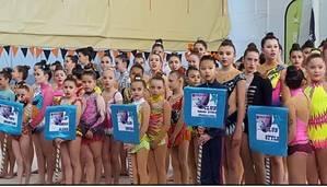 Celebrada en Villanueva de la Torre la III Fase del Circuito Provincial de Rítmica de 2017