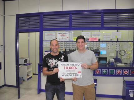 Un afortunado alcarreño se lleva 10.000 euros del Joker de La Primitiva
