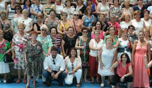 La consejera de Fomento Agustina García celebra los 25 años de la Asociación de Mujeres de Marchamalo