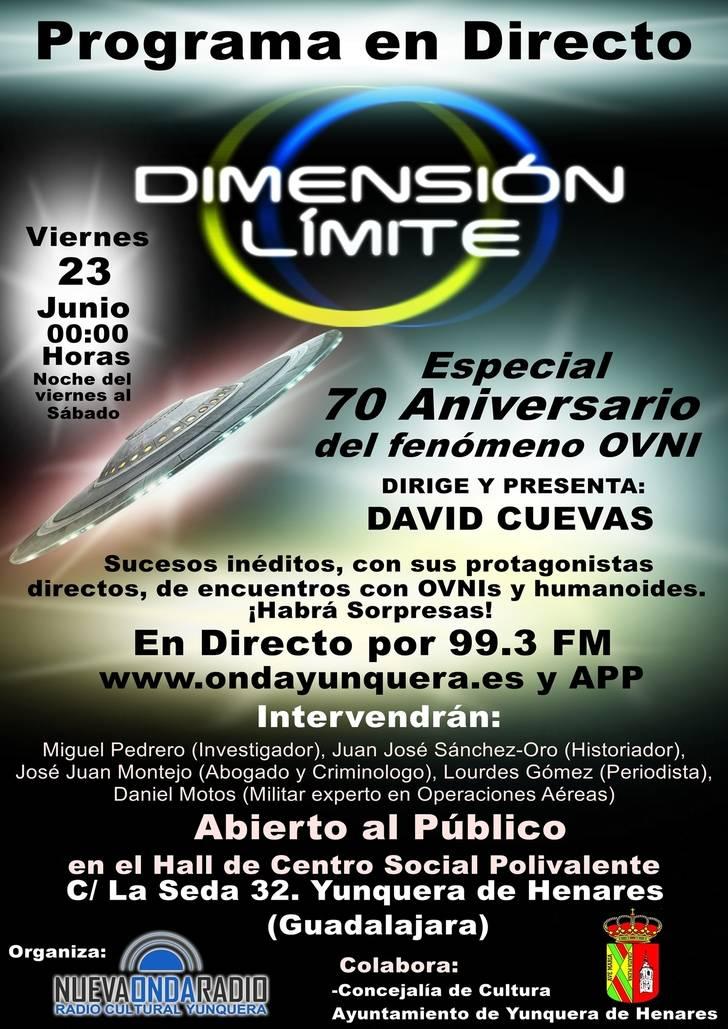 Yunquera de Henares, celebra 70 años del fenómeno «OVNI » con un evento especial
