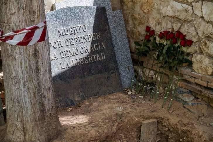 Identifican los restos de Timoteo Mendieta entre los exhumados en Guadalajara