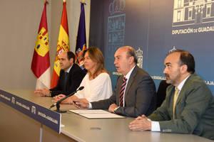 """Latre: """"La Diputación de Guadalajara se ha convertido en el referente económico, inversor, social y cultural de la provincia"""""""