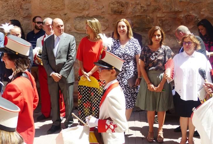 El presidente la de Diputación asiste a las Fiestas del Carmen en Molina de Aragón