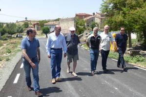 La Diputación de Guadalajara culmina el plan de carreteras de la zona de Sigüenza