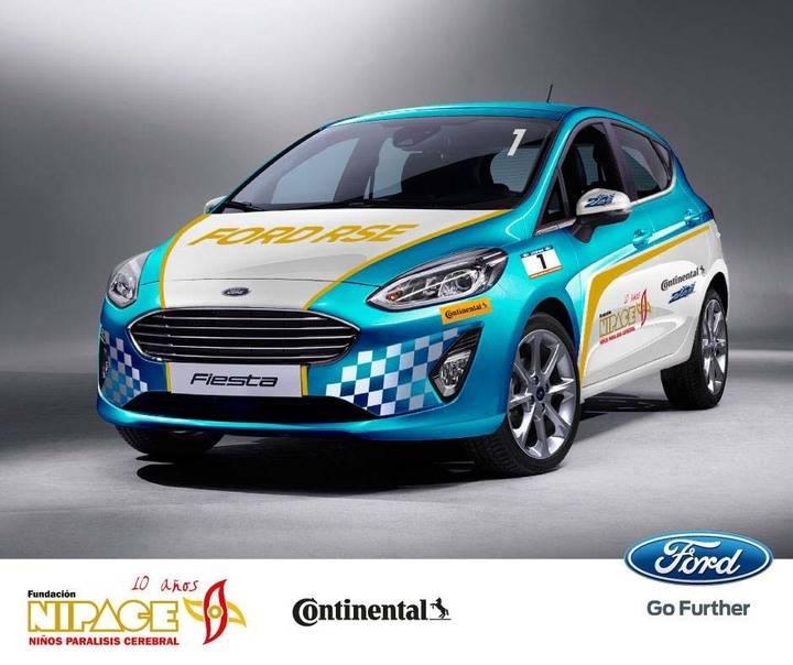Nipace pide el voto de apoyo en la Carrera virtual solidaria 24 Horas Ford