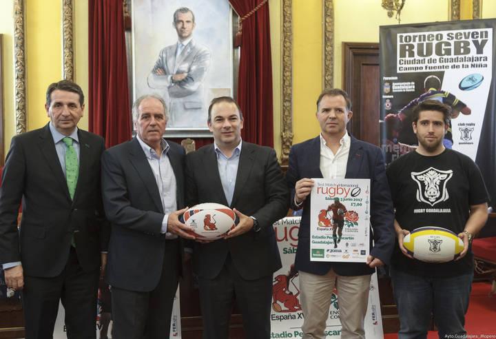 Rugby en Guadalajara con el I Torneo Seven Memorial Sergio Gálvez y el España-Inglaterra