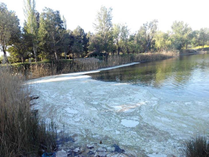 Nuevos vertidos de materia orgánica que se originan en Madrid y terminan pasando por Toledo