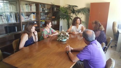 """La directora de Planes de Empleo de la Junta visitó """"Las Encinas"""" en Cabanillas"""