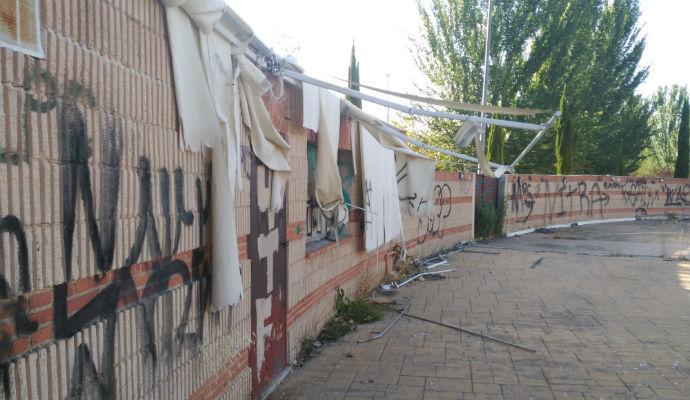 Ahora Guadalajara denuncia el abandono del auditorio del Barranco del Alamín