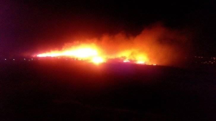 Controlado el importante incendio declarado detrás del Club de Campo del Casino de Guadalajara
