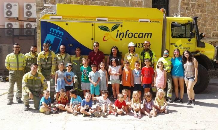 La Junta promueve acciones para educar desde la infancia sobre la importancia de prevenir y evitar los incendios forestales