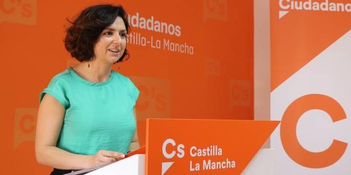 """Orlena De Miguel: """"En Ciudadanos tenemos claro que hemos venido a ser la solución, a ser útiles, y no a buscar sillones"""""""