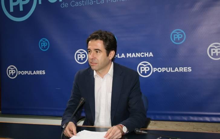 """Robisco: """"Page impulsa que Castilla-La Mancha sea el conejillo de indias de los ensayos de laboratorio entre socialistas y comunistas a nivel nacional"""""""