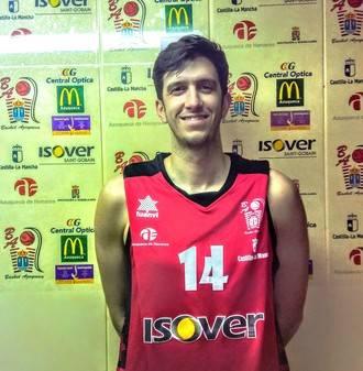 Charly García cumplirá su 6ª temporada consecutiva en el Isover Basket Azuqueca