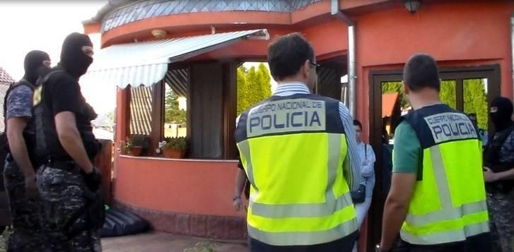 La Policía Nacional detiene a tres butroneros en Rumanía por el robo de seis joyerías en Madrid y Guadalajara