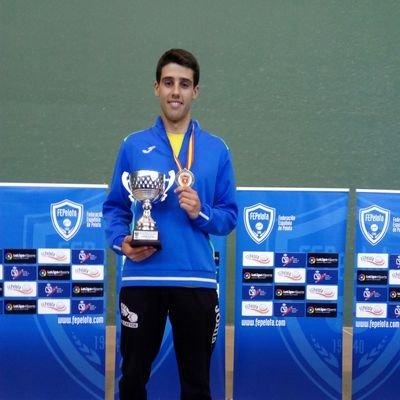 El alcarreño Eduardo Foguer campeón de España Frontenis