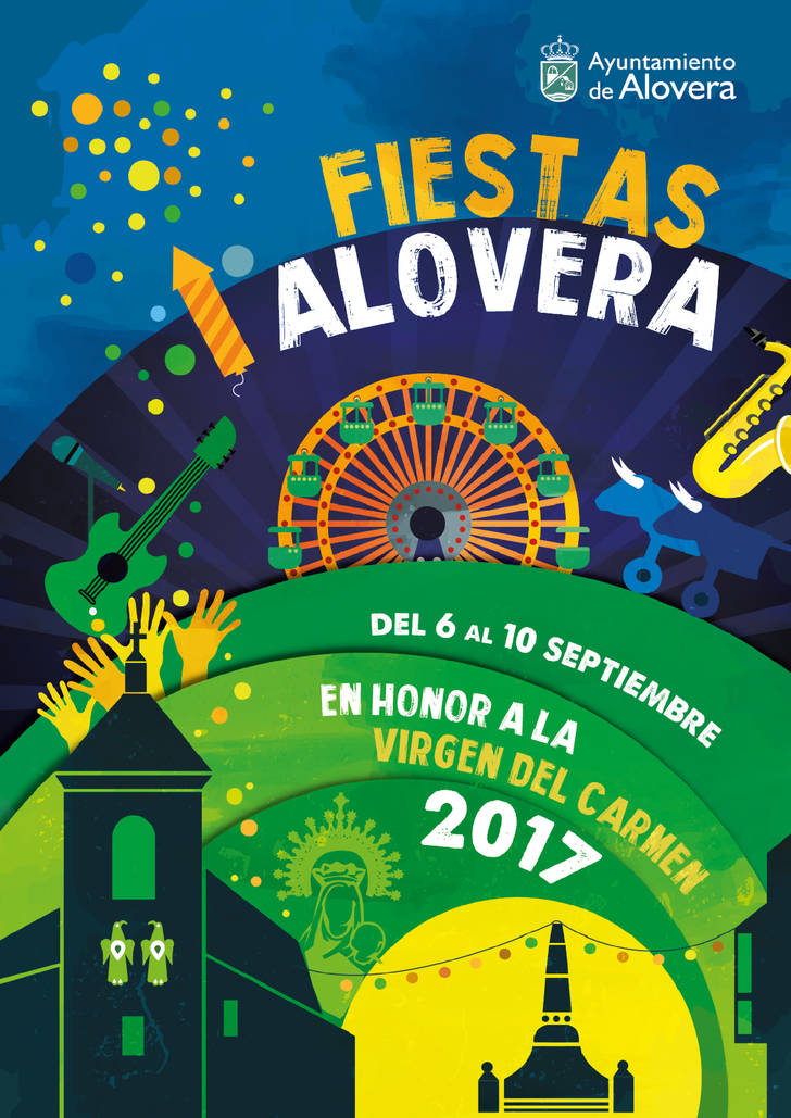 Todo preparado en Alovera para disfrutar de la Semana Cultural y las Fiestas de la Virgen del Carmen