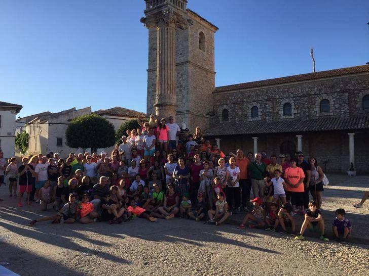 Gran éxito de la I Marcha contra el Cáncer de Fuentenovilla