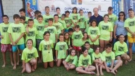 El Campeonato Interpueblos de Natación continúa su desarrollo por la provincia de Guadalajara