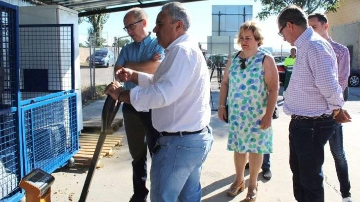 La Junta colabora en adaptar los puntos limpios de Alovera y Azuqueca
