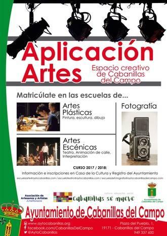 Abren la matrícula a los cabanilleros para las Escuelas de Teatro, Artes Plásticas y Fotografía
