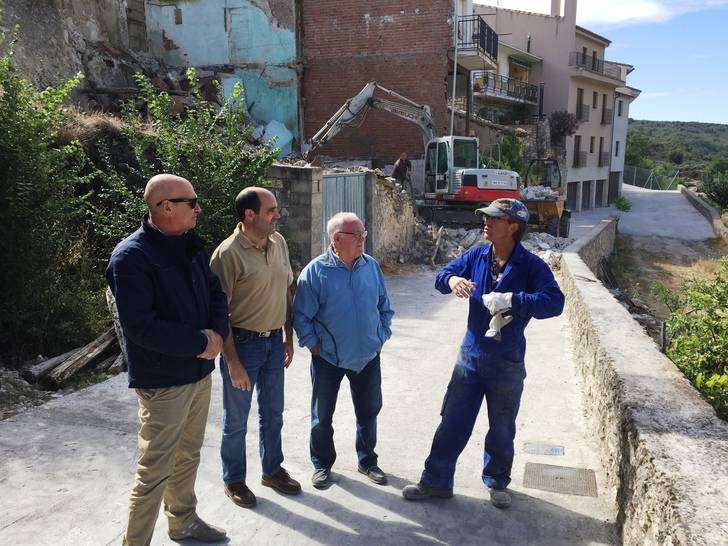 La Diputación de Guadalajara destina más de 145.000 euros en obras de mejora en tres municipios