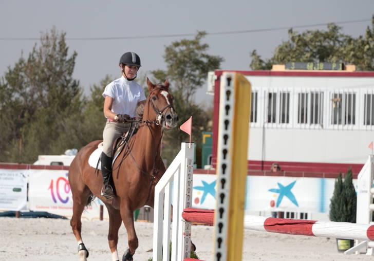 La infanta Elena asiste al Concurso Nacional de Saltos que se celebra en Guadalajara