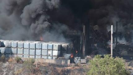 Equo y Ecologistas en Acción exigen la descontaminación de la zona afectada por el incendio de Chiloeches
