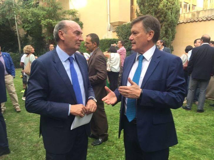 José Manuel Latre asiste a la Conferencia de Presidentes Provinciales que tiene lugar en Segovia