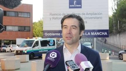 Robisco: 'Page anunció la apertura del párking del Hospital hace un año y todavía sigue cerrado'