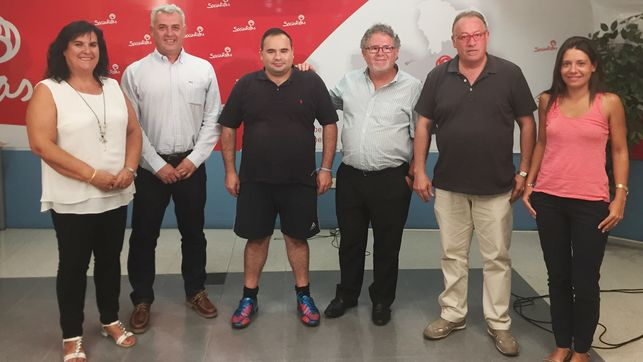 Militantes socialistas de Guadalajara crean un grupo de apoyo a Page