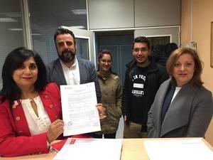 Pablo Bellido y Ana Fabián, precandidatos a la Secretaría General del PSOE Guadalajara