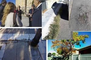 """Vecinos de Asfain se quejan del """"desinterés del alcalde para acabar con la suciedad y el abandono del barrio azudense"""""""