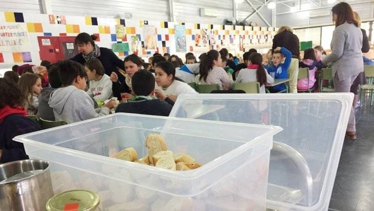 Azuqueca continúa con el programa 'Apoyo Nutricional y Refuerzo Escolar' para los menores de familias con dificultades económicas