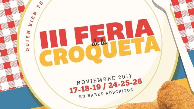 La III Feria de la Croqueta de Azuqueca de Henares arranca el próximo viernes