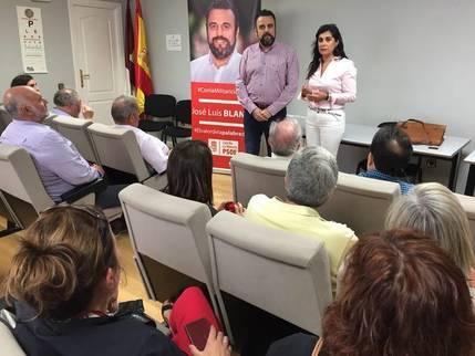 """Mensaje de Blanco a Page y sus palmeros : """"Aquí no se venden sillones, en esta candidatura hay militantes, no clientes"""""""